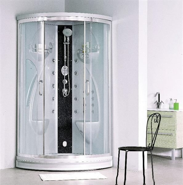 stoomcabine douche van alle gemak voorzien