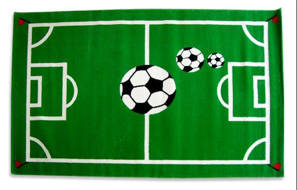 Tapijt Voetbalveld - 133 x 90 cm