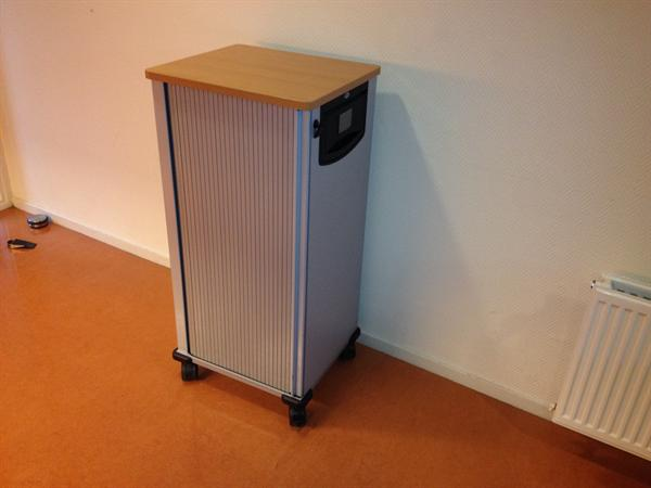 Nieuwe Steelcase Werndl flextrolley, 110 cm hoog