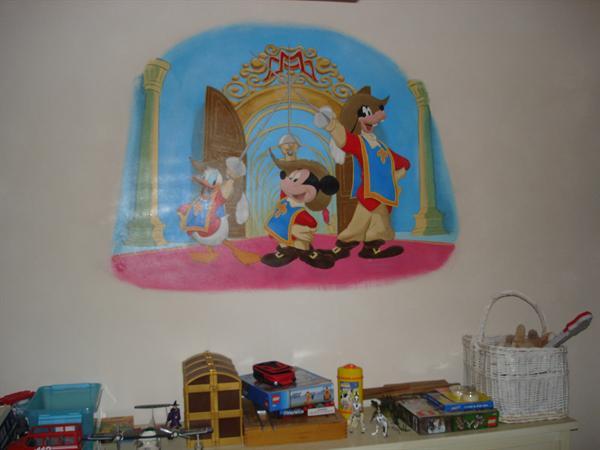 Muurschilderingen, muurteksten