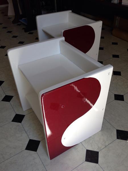 Yin Yang (bijzet) tafeltjes