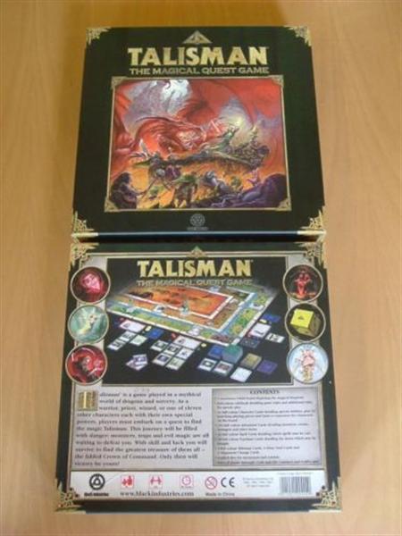 Talisman bordspel the magical quest game (2007)