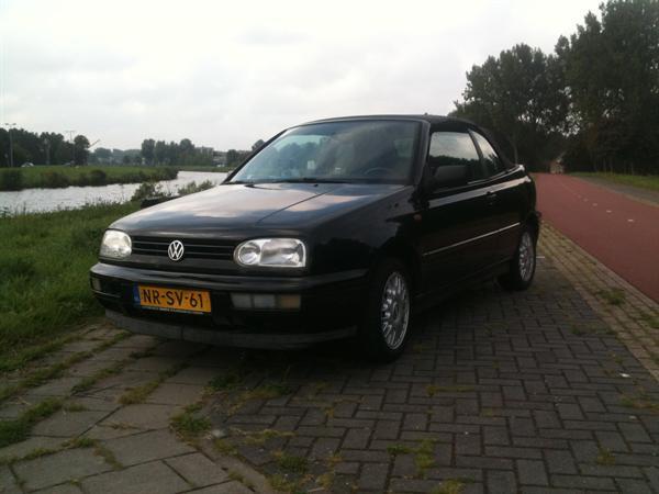 Golf 3 1.8i Cabriolet 1996 231.000km met APK !
