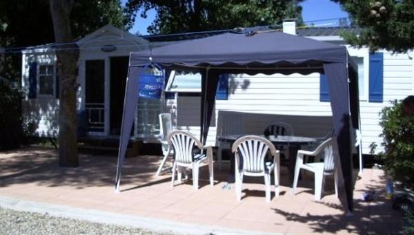 Mobile Home direct aan de Middellandse Zee