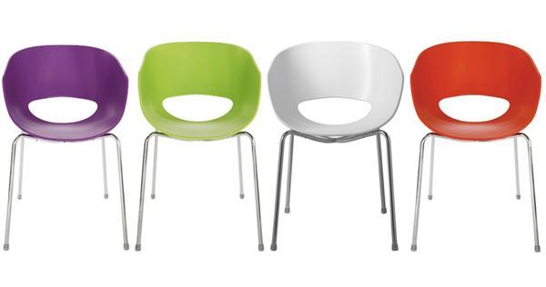 Eggshell Orbit Chair In 4 Kleuren Woning Inrichting Stoelen Fauteuils ...