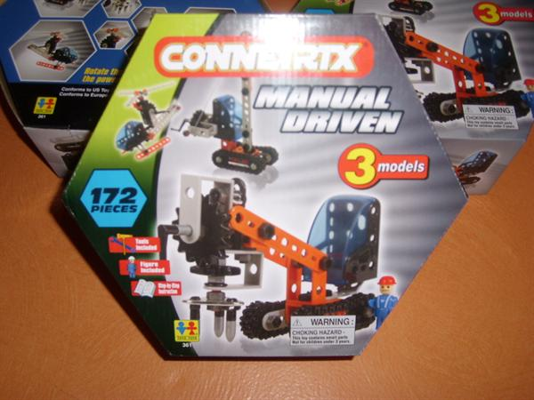 connetrix 3 modellen 172 pieces nieuw in doos
