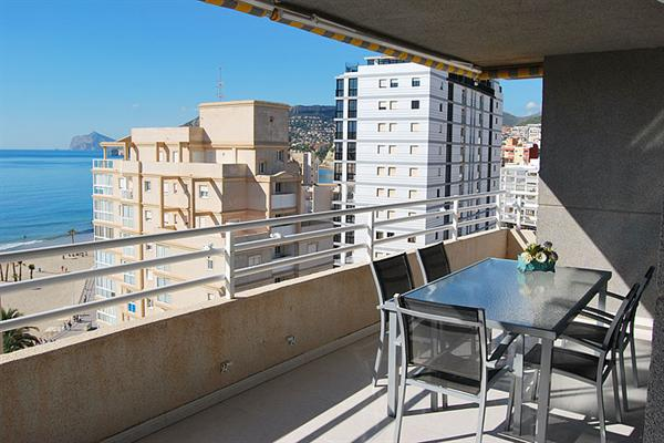 Modern luxueus (6 pers) appartement in Calpe
