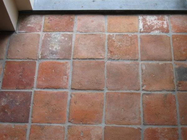 Echte Oude Terracotta Vloeren Plavuizen Bouw Industrie Stenen En ...
