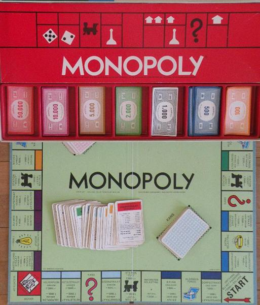 Monopoly, guldens.