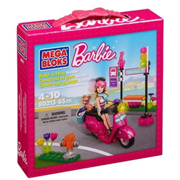 Mega bloks Barbie Scooter