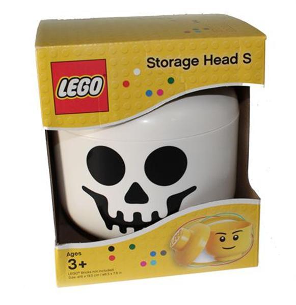 Lego opberghoofd Ghost s