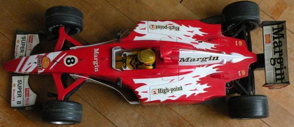 Race-auto. Groot.