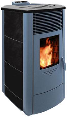 PELLETKACHEL van 12,5 kW, goedkoper verwarmen
