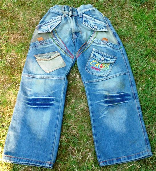 hippe stoere spijkerbroek / skatebroek