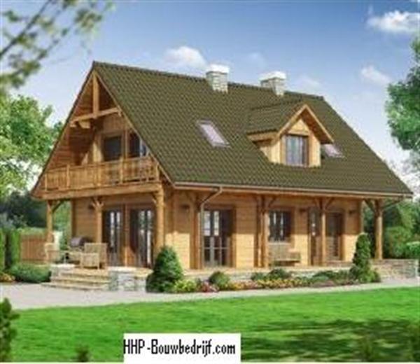 log house houten huizen chalets woningen te koop nieuw europa