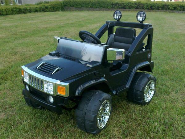 1-pers. Hummer Accu/Jeep met afstandsbediening 12V