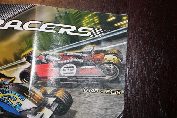 Lego racers 8136 8140
