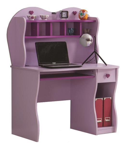 Candy bureau lila voor de kinderkamer meisjeskamer